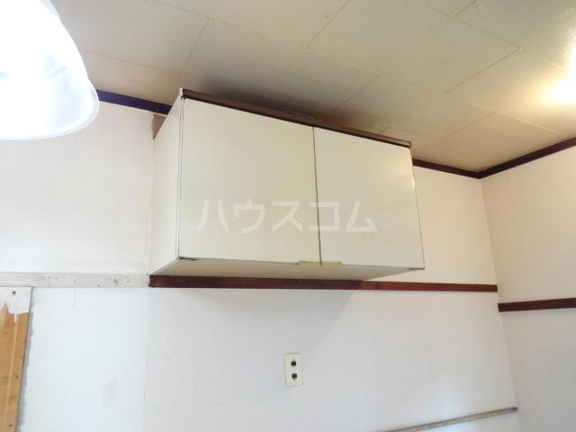 松籟荘 C号室の収納