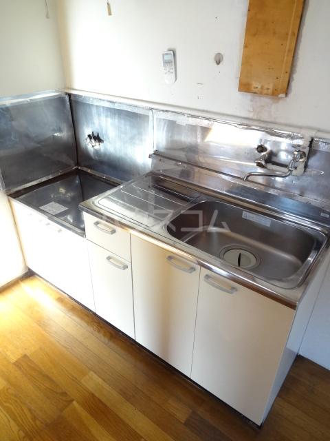 松籟荘 C号室のキッチン