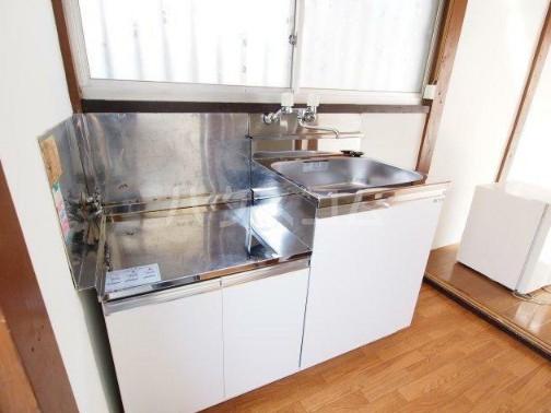 四之宮荘2 206号室のキッチン