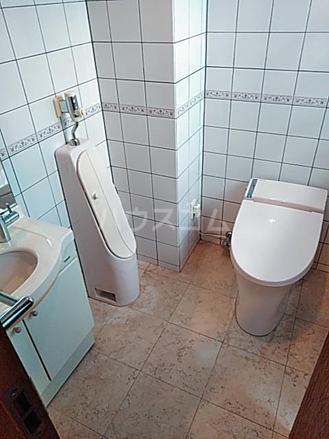 サンモール上用賀 401号室のトイレ