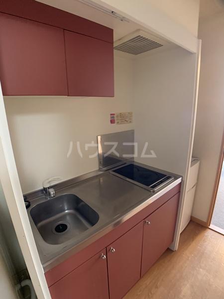 レオパレスバローネⅡ 407号室のキッチン