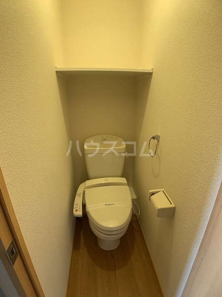 レオパレスバローネⅡ 407号室のトイレ