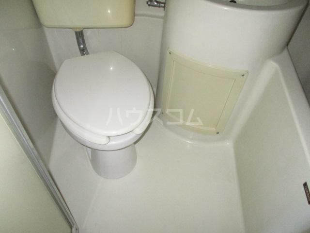 ユタカハイツ 201号室のトイレ