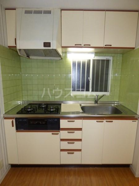 コーポラスノベルティD 102号室のキッチン