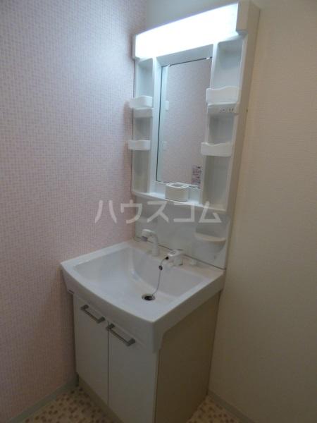 コーポラスノベルティD 102号室の洗面所