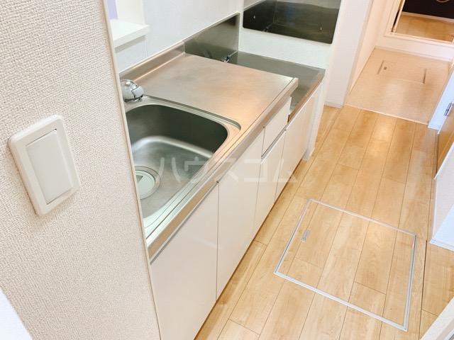 レガーシア 01010号室のキッチン