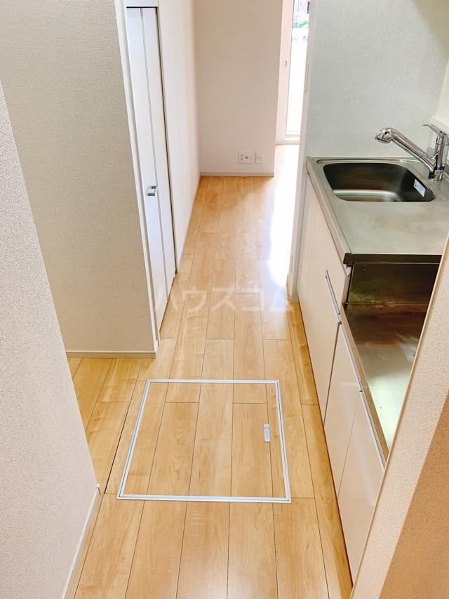 レガーシア 01010号室の玄関