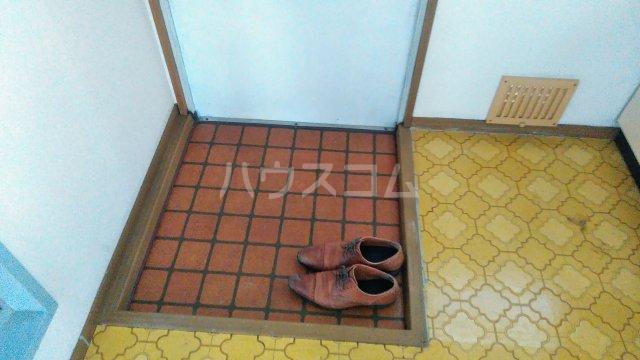 ヴィラ桔梗 107号室の玄関