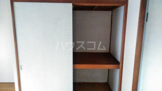ヴィラ桔梗 107号室の収納