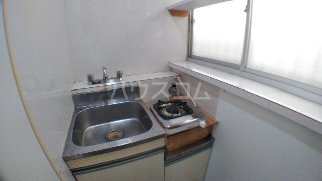 みどり荘 201号室のキッチン