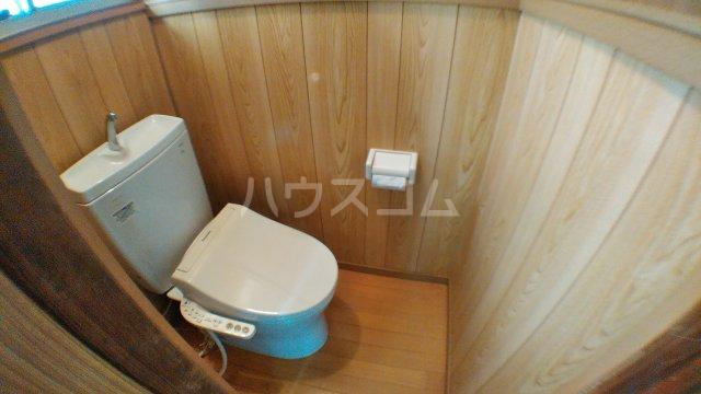 みどり荘 201号室のトイレ