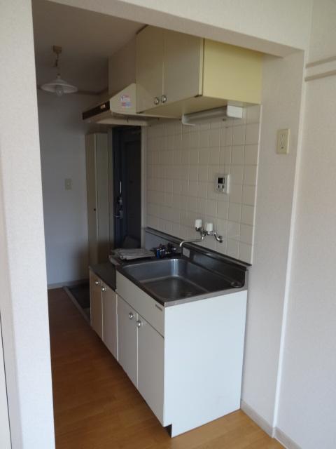 セシリヤハイム 204号室のキッチン