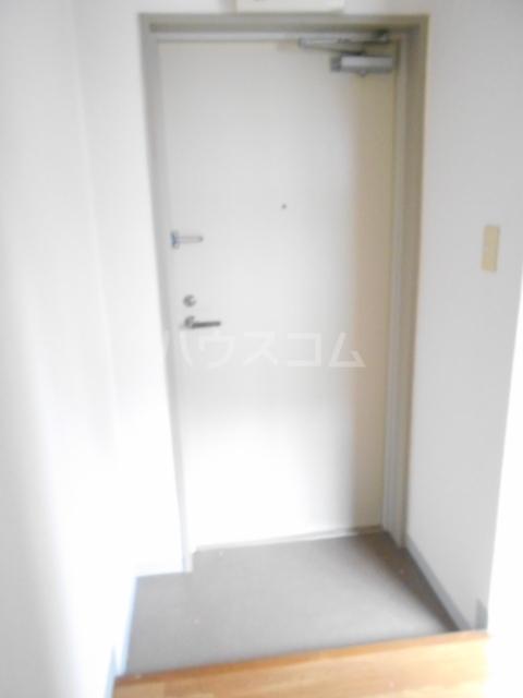 用賀ケロポリアル 201号室の玄関