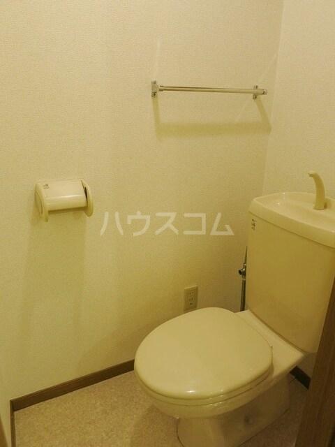 アメニティハイツA 01030号室のトイレ