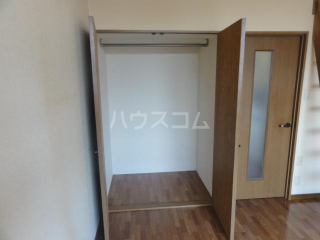 ラセーヌ柴田 2F号室の収納
