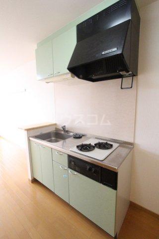 エミネンス 106号室のキッチン