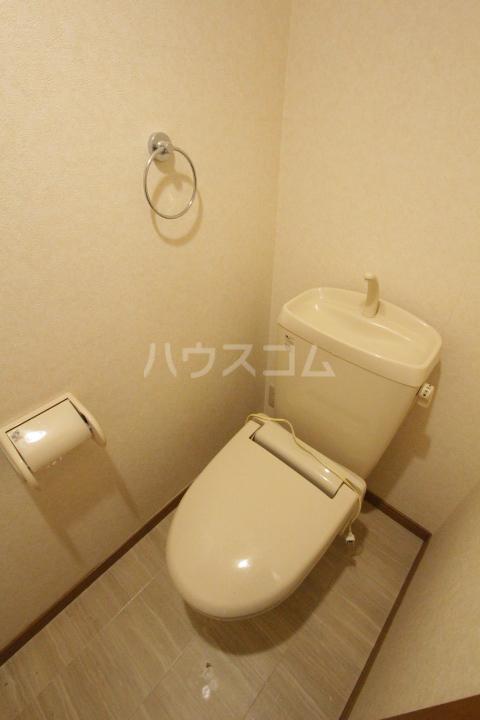 ヴェルシェ浄水 B棟のトイレ