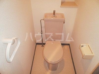 豊田神田町コーポラス 302号室のトイレ