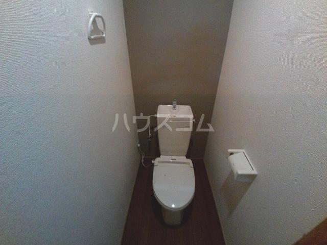 アビテナポールⅡ 206号室のトイレ
