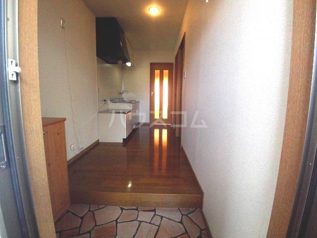 アビテナポールⅡ 206号室の玄関
