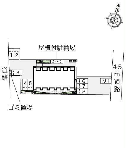 レオネクスト吉良吉田 105号室の駐車場