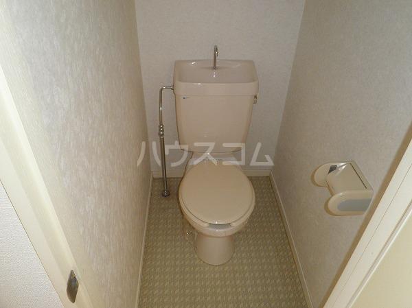 エクセレンス緑丘 112号室のトイレ