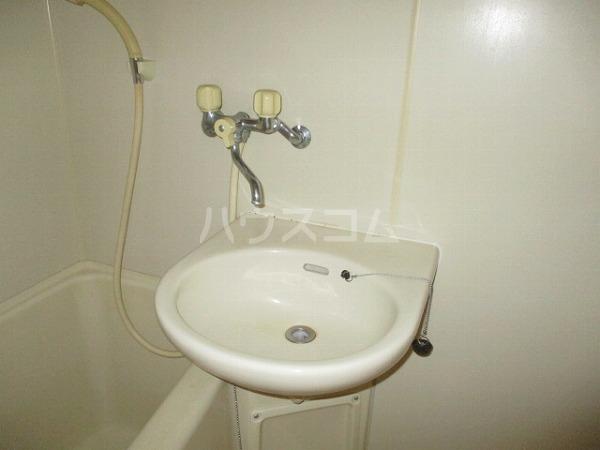 エクセレンス緑丘 112号室の洗面所