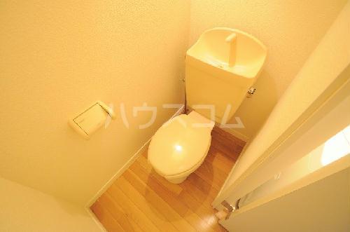 レオパレス中野川 101号室のトイレ