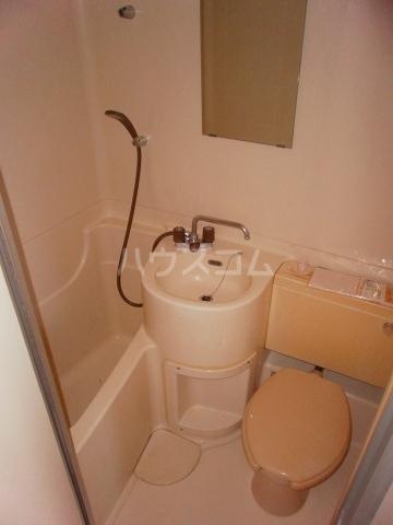 グリーンヒル№2 206号室のトイレ