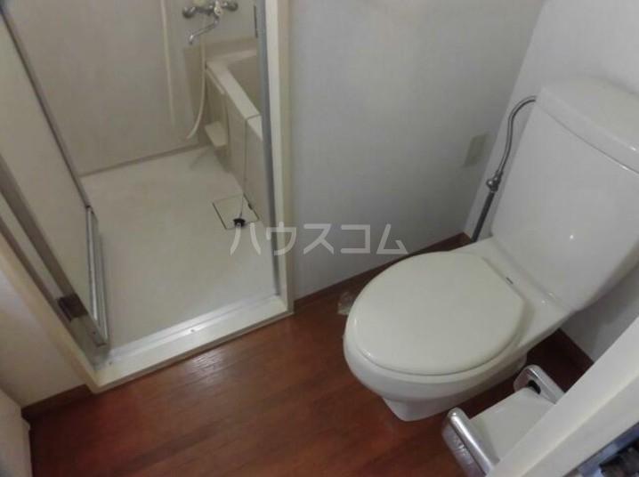 プラザスズキ 203号室のトイレ