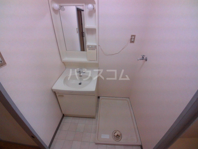 金下コーラス 202号室の洗面所