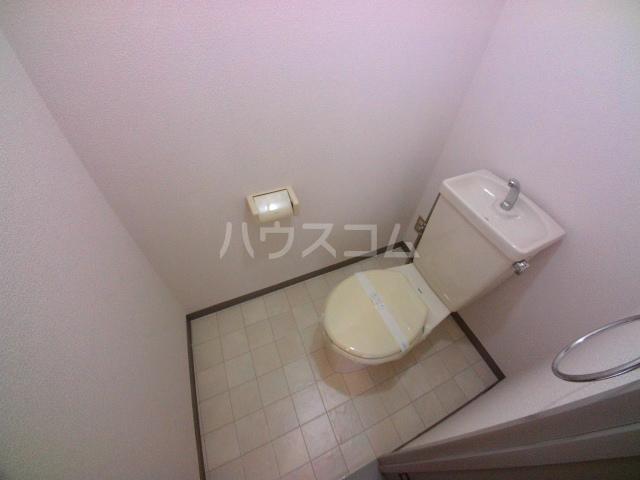 金下コーラス 202号室のトイレ