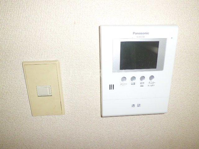 リード欠町 201号室のセキュリティ
