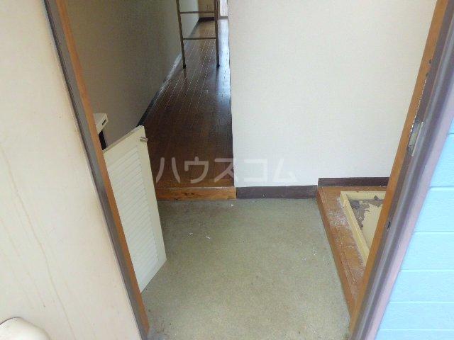 リード欠町 201号室の玄関