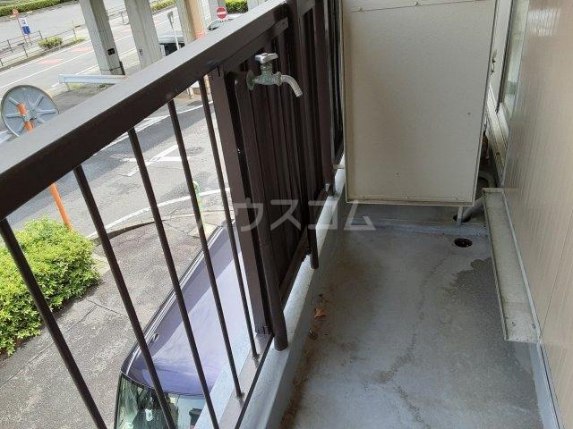 第1マンション龍 202号室のバルコニー