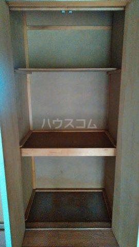神池ハイツ B棟 110号室の収納