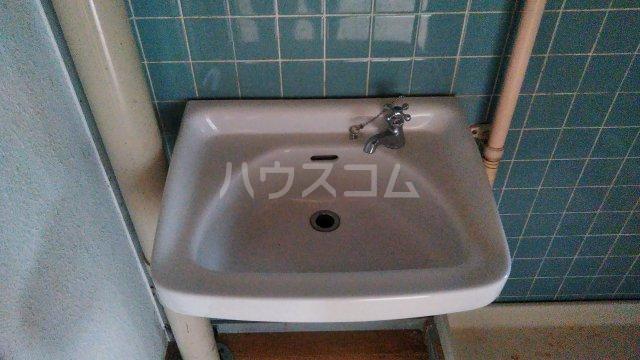神池ハイツ B棟 110号室の洗面所
