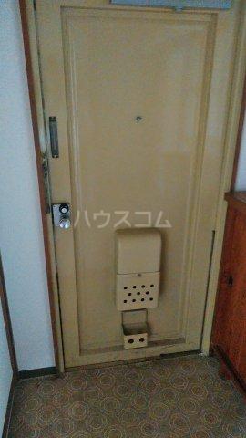 神池ハイツ B棟 110号室の玄関