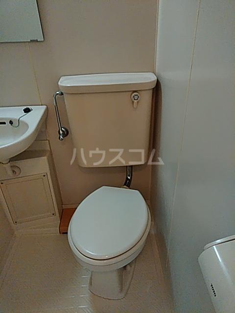 ワイズニール自由が丘 301号室のトイレ