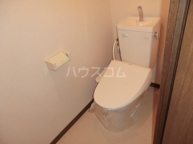 ファミール松花B棟のトイレ