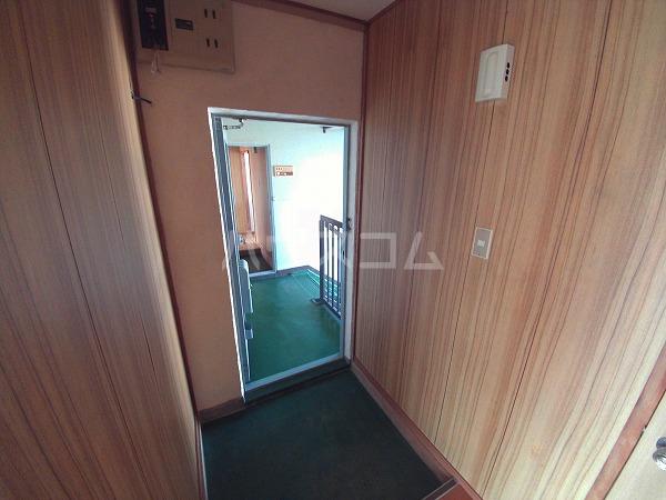 畔柳ハイツ 302号室の玄関