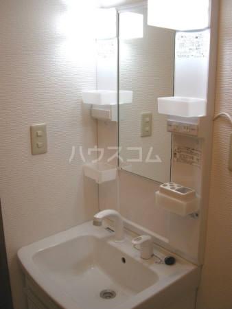 ラ・ヴェルディ B棟 202号室の洗面所