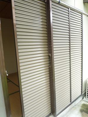 杉浦荘 3号室のセキュリティ