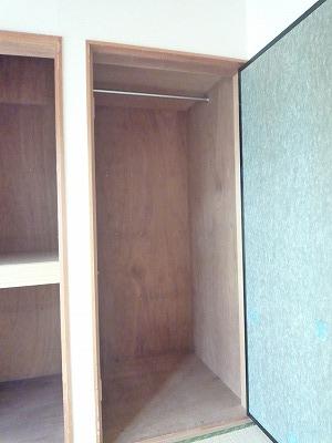 杉浦荘 3号室の収納