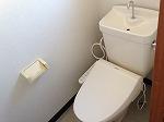杉浦荘 3号室のトイレ