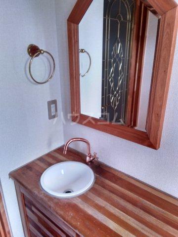 セザンヌ中条 107号室の洗面所