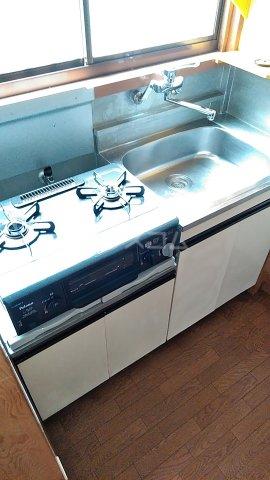 コーポ秋元 101号室のキッチン
