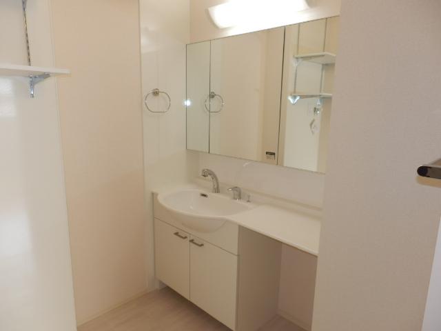 ル・カルテットヒロミ 101号室の洗面所