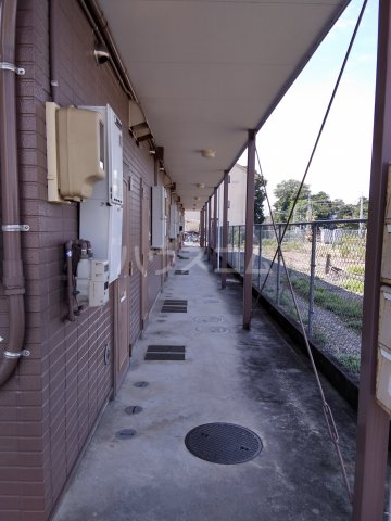 プリンスヒルC 108号室のエントランス