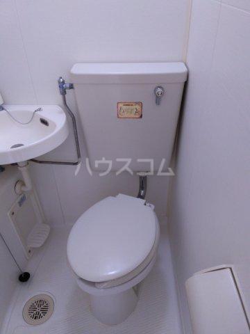 プリンスヒルC 108号室のトイレ